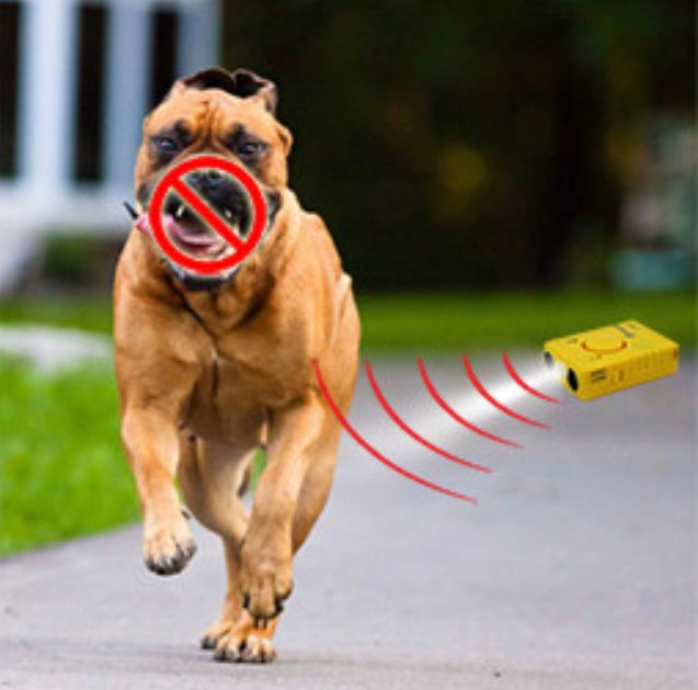 3-In-1 Ultrasonic Dog Chaser & Personal Emergency Alarm