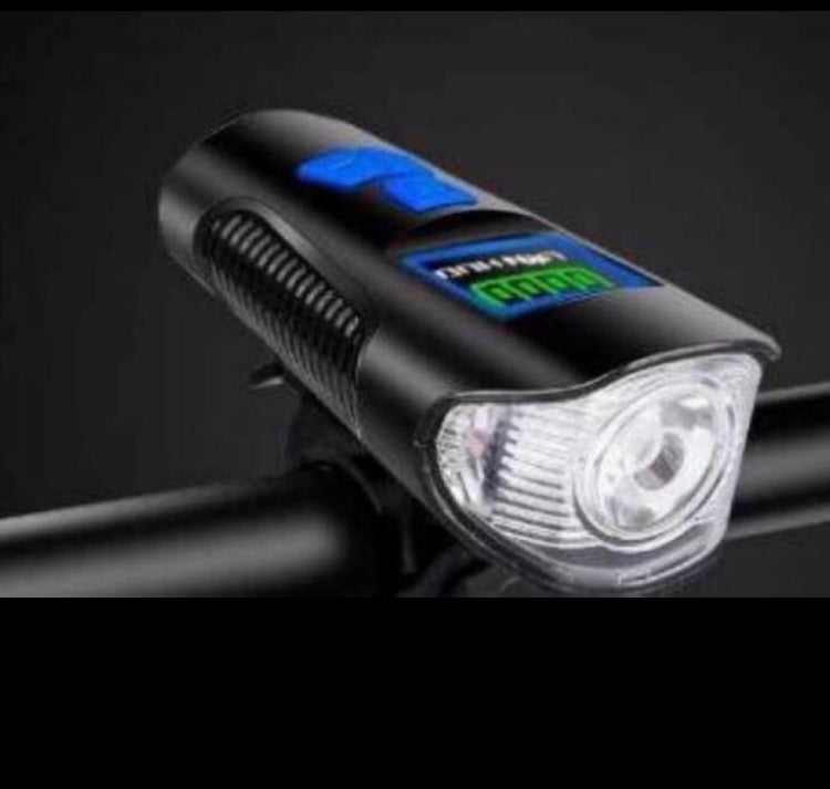 Rechargeable Loud Bicycle Horn Light
