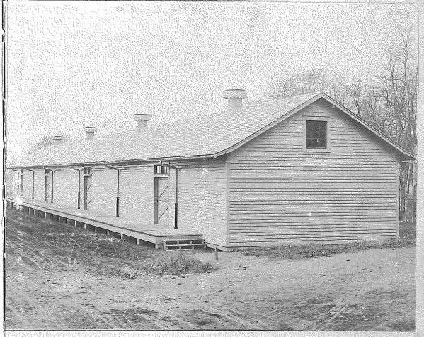 Fort Vancouver Railroad Depot 1936