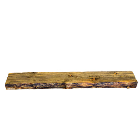 LIVE EDGE BLUE PINE MANTEL