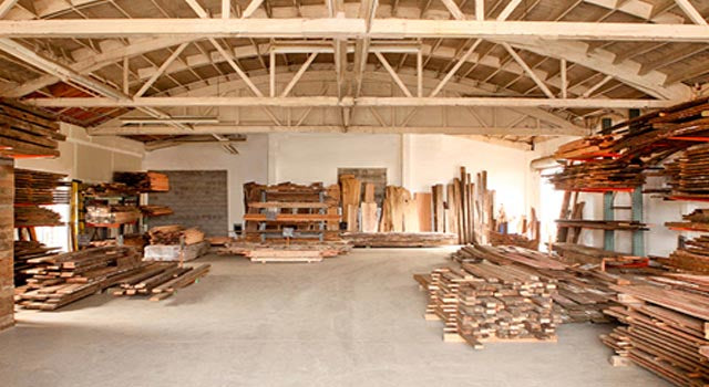 Salvage Works Warehouse Lumber