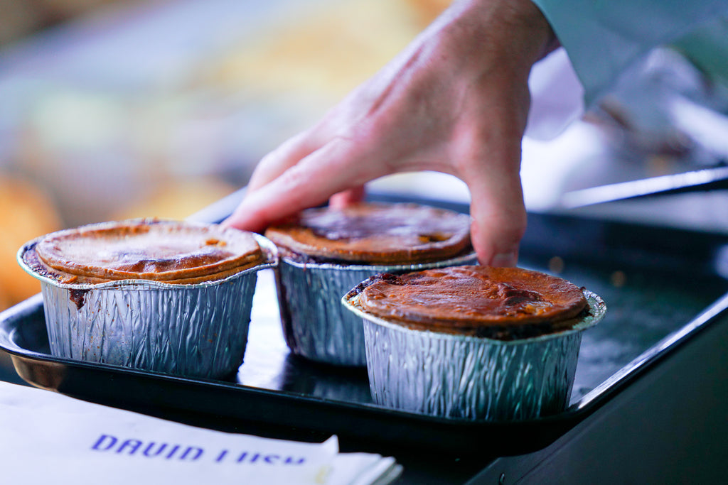 David Lush Butchers Pies