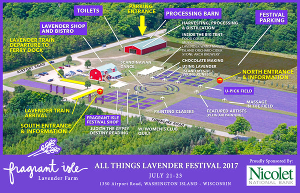 All Things Lavender Festival 2017 - Schedule of Events – Fragrant ...