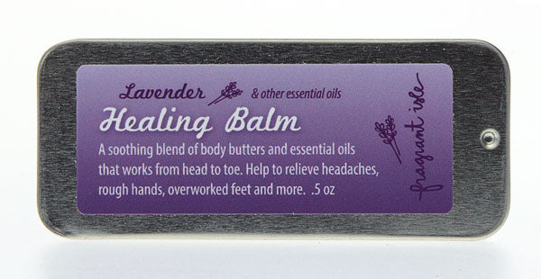A Little Lavender Healing Balm Goes a Long Way