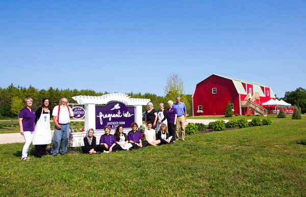 Fragrant Isle Lavender Farm Presents Team 2015