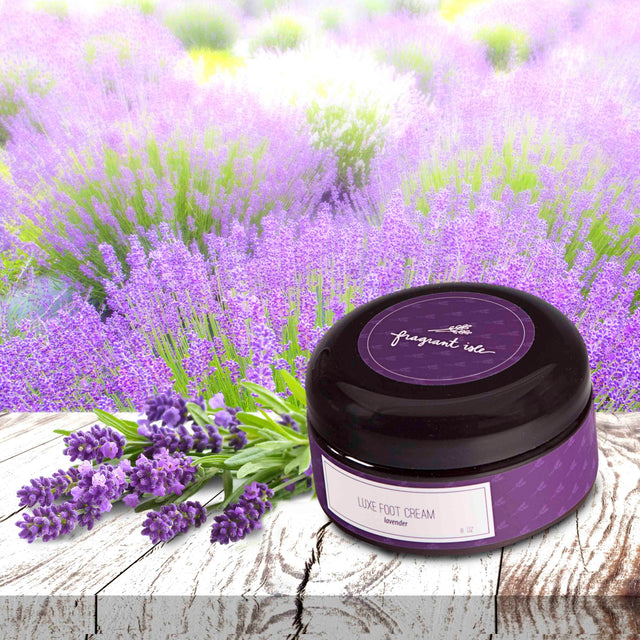 Lavender Luxe Foot Cream - 8 oz