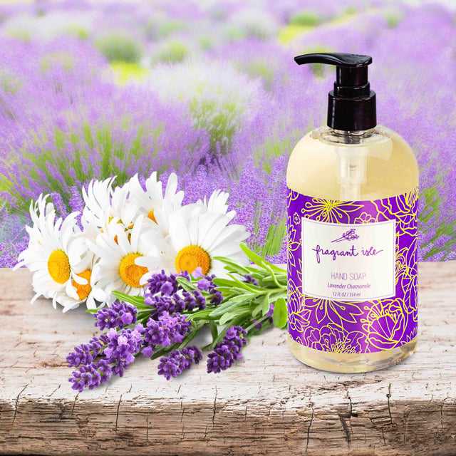 Lavender and Chamomile Hand Soap - 12 oz