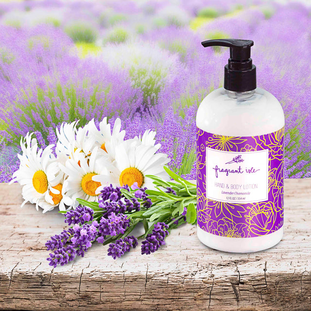Lavender Chamomile Hand and Body Lotion - 12 oz