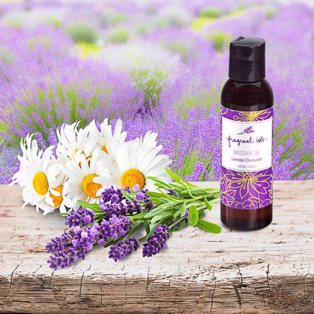 Lavender Chamomile Massage Oil - 4 oz