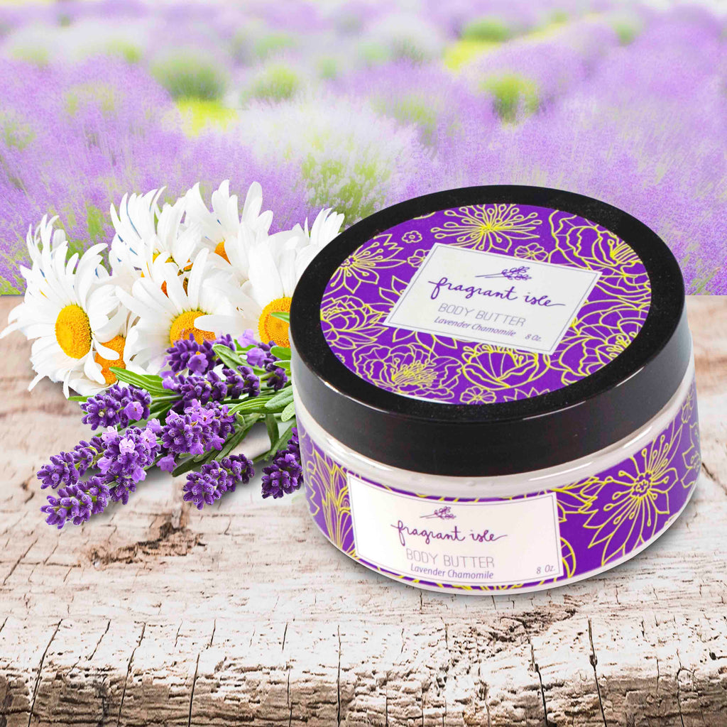 Lavender Chamomile Body Butter - 8 oz