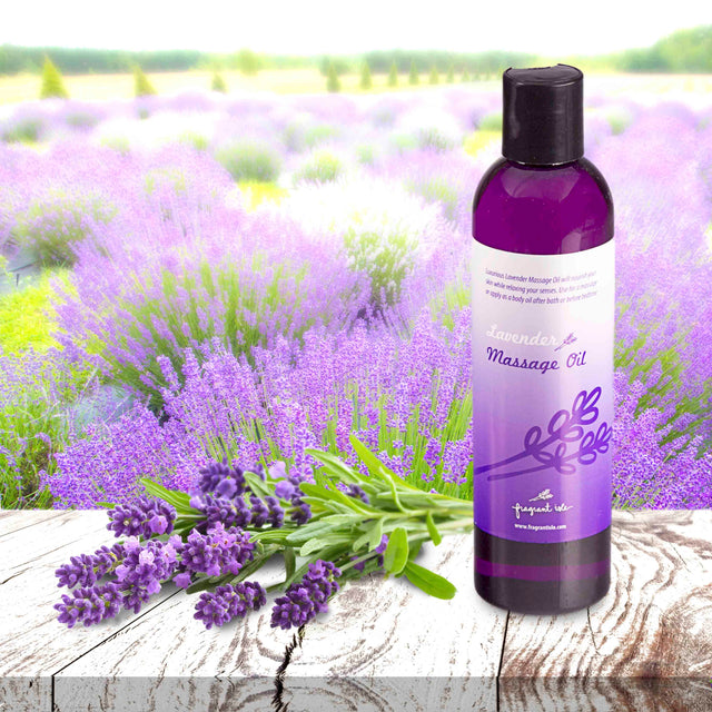Lavender Massage Oil - 8 oz