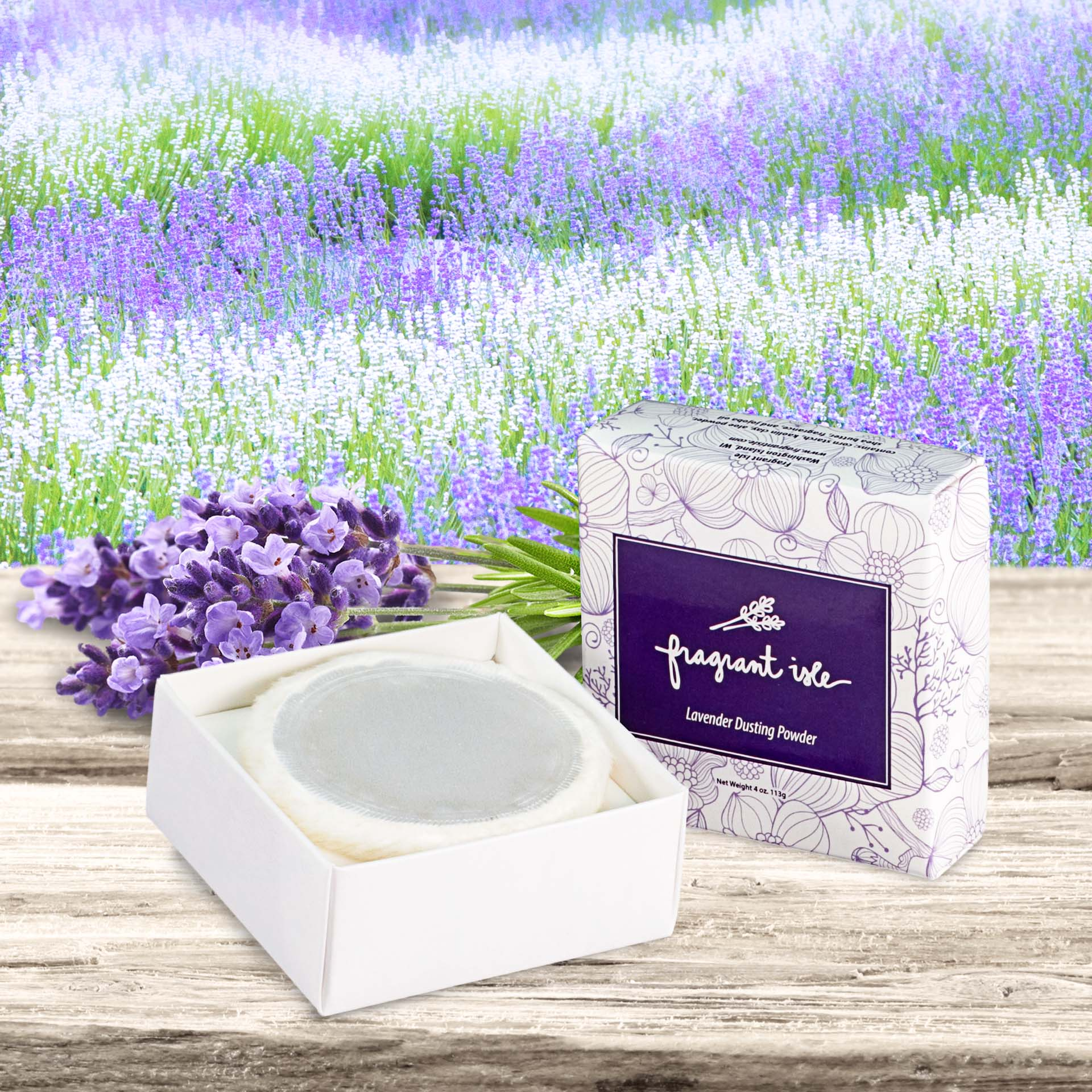 Lavender Dusting Powder - 4 oz