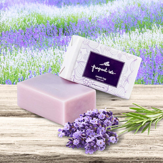 Lavender Shea Butter Soap - 6.4 oz