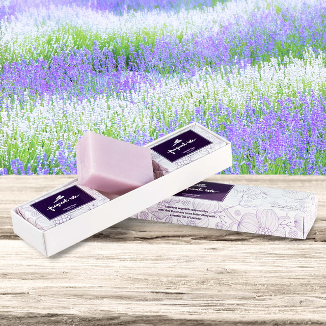 Lavender Shea Butter Soap - 3 pcs