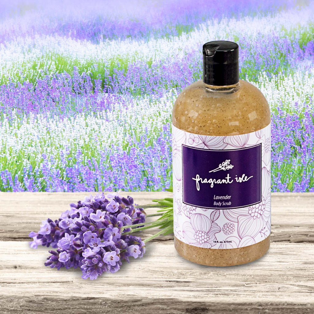 Lavender Body Scrub - 16 oz