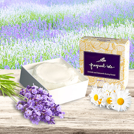 Lavender Chamomile Dusting Powder - 4 oz