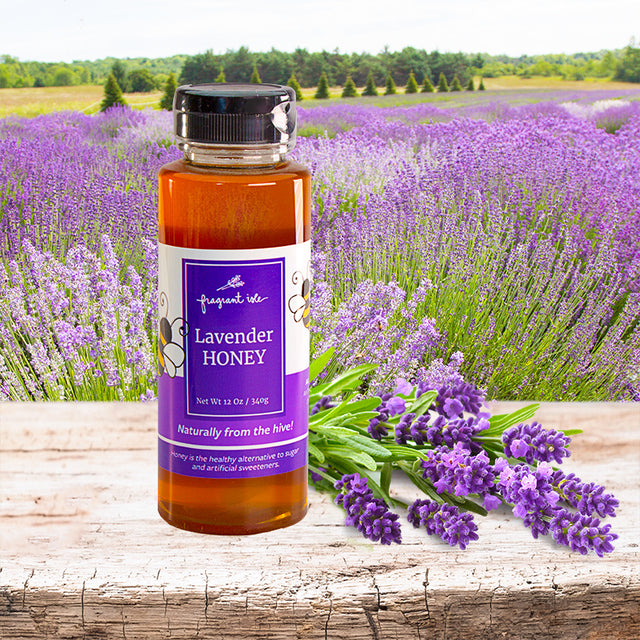 Honey with Lavender - 12 oz