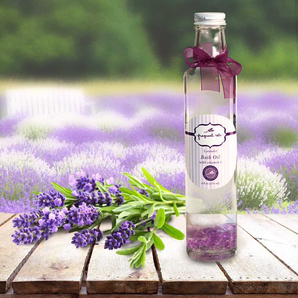Lavender Bath Oil - 9 oz