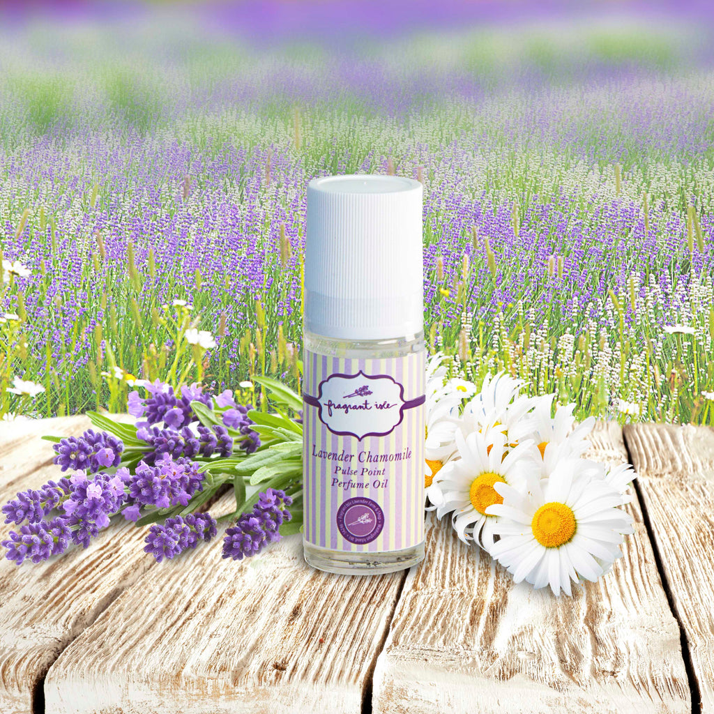 Lavender Chamomile Pulse Point Perfume - 1 oz