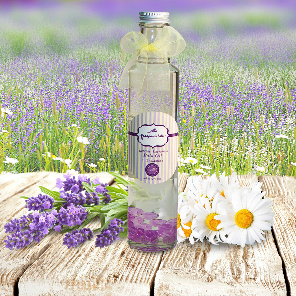 Lavender Chamomile Bath Oil - 8 oz