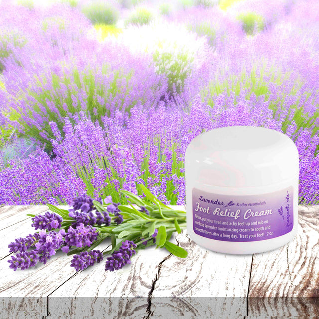 Lavender Foot Relief Cream - 2 oz
