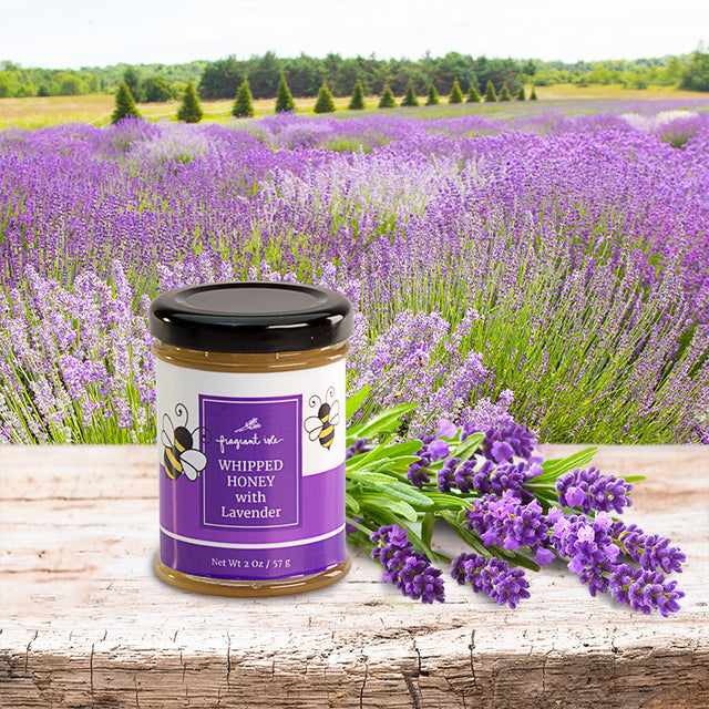Whipped Honey with Lavender - 2 oz