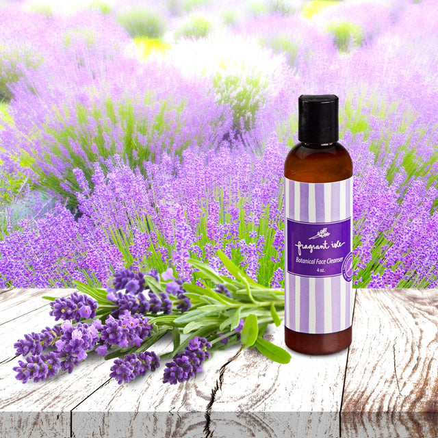 Lavender Botanical Face Cleanser - 4 oz