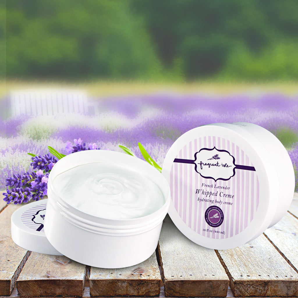 Lavender Whipped Body Creme - 16 oz