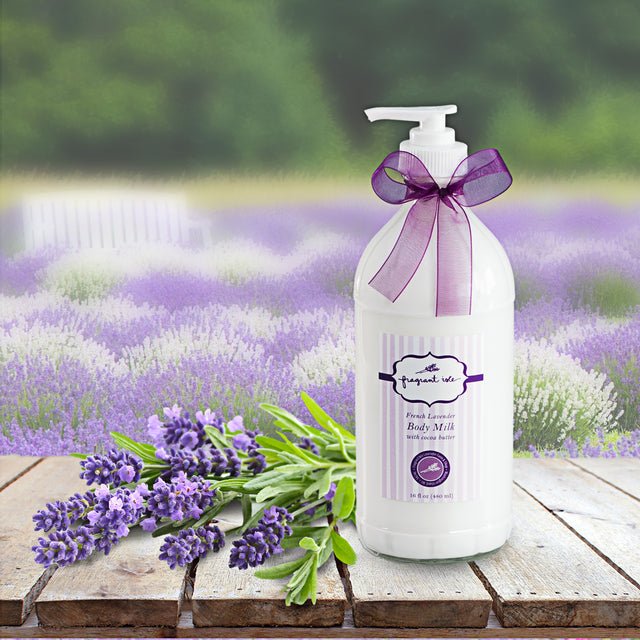 Lavender Body Milk - 16 oz