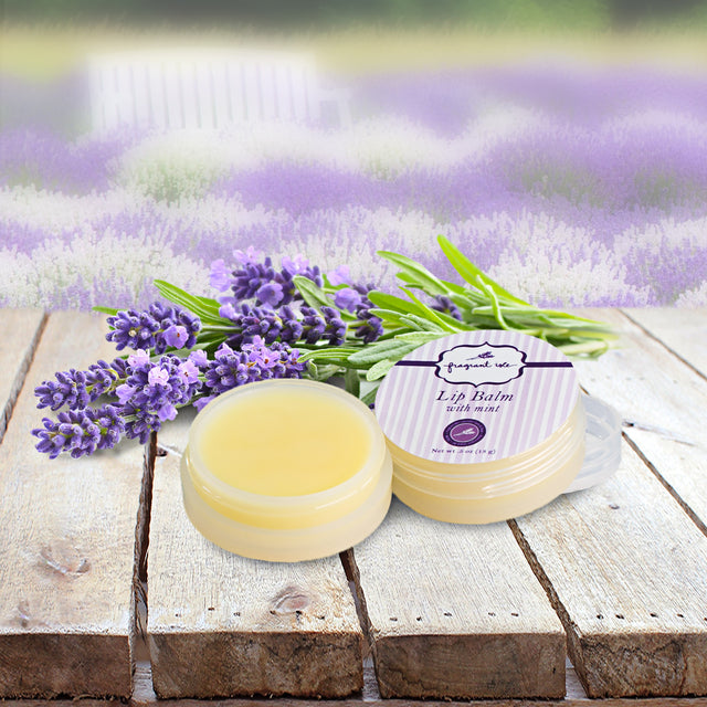 Lavender Lip Balm w/ Mint - 0.5 oz