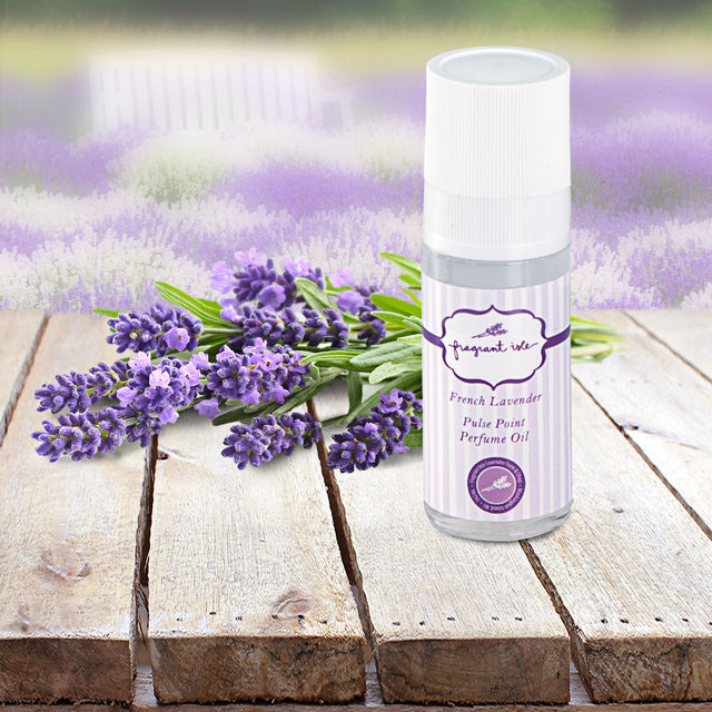 Lavender Pulse Point Perfume Oil - 1 oz