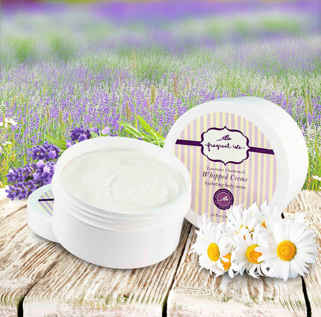 Lavender Chamomile Whipped Body Creme - 16 oz
