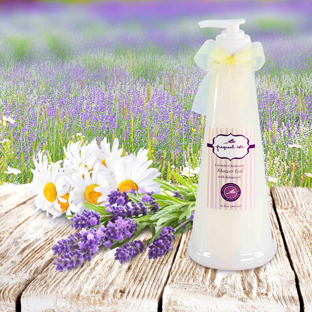 Lavender Chamomile Shower Gel - 16 oz