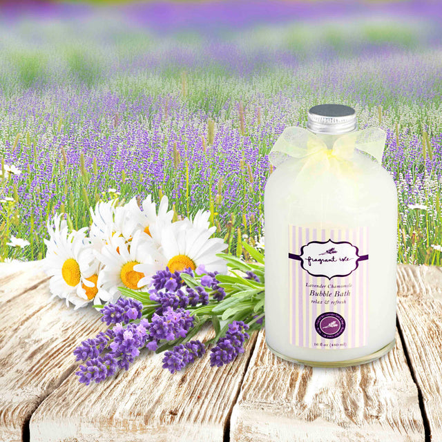 Lavender Chamomile Bubble Bath - 16 oz