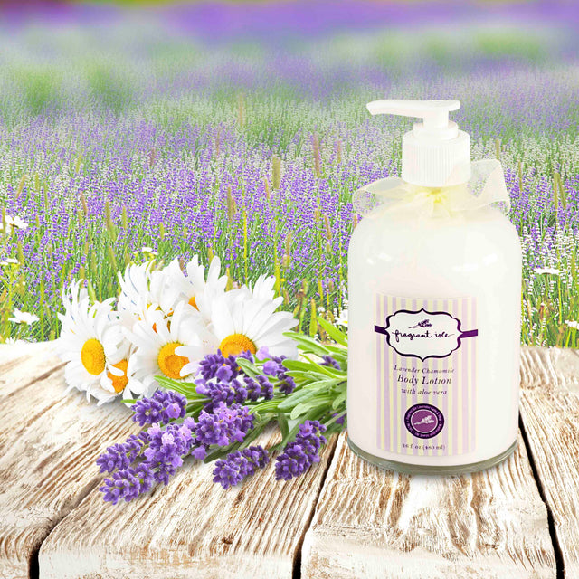 Lavender Chamomile Body Lotion - 16 oz
