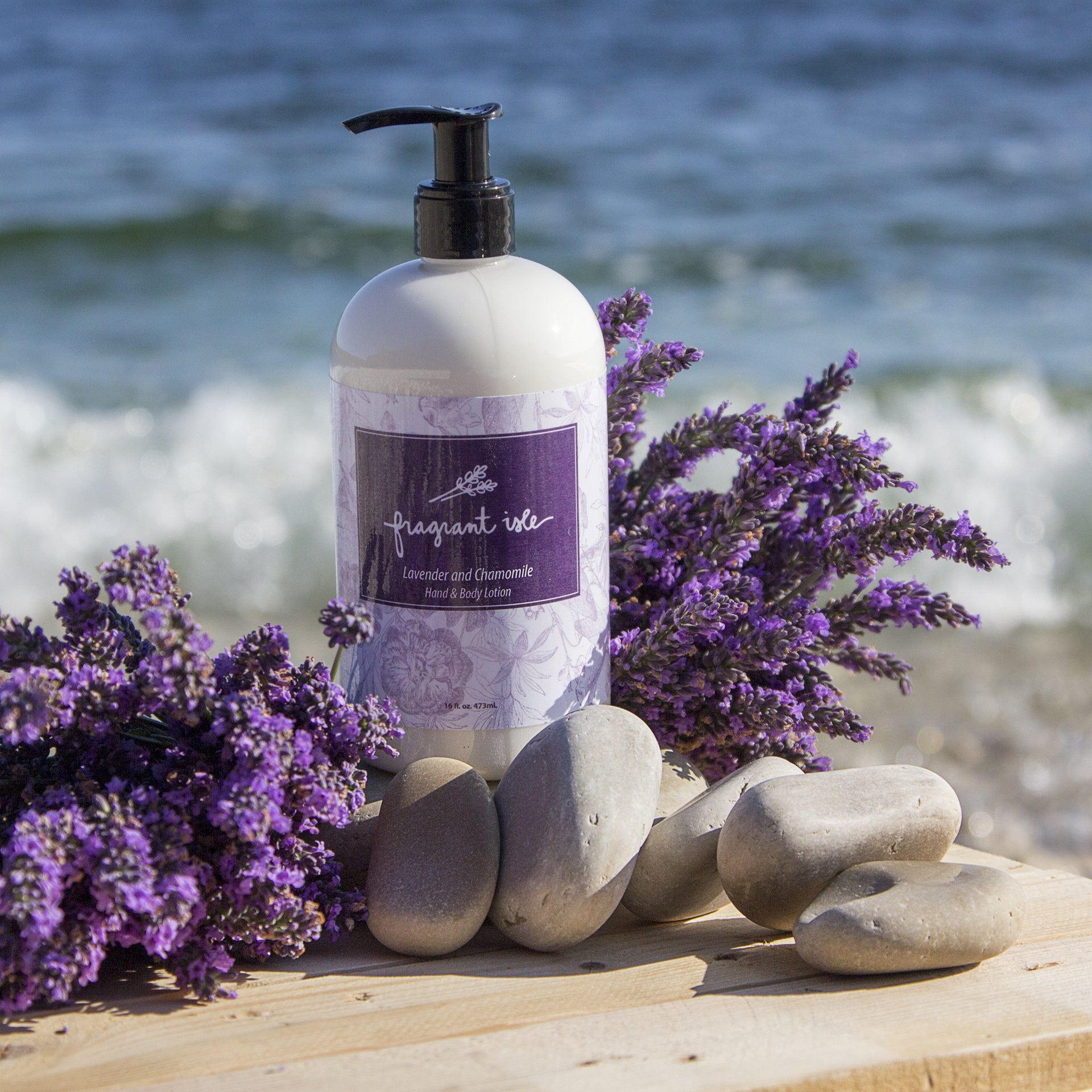 Lavender Chamomile Hand Lotion