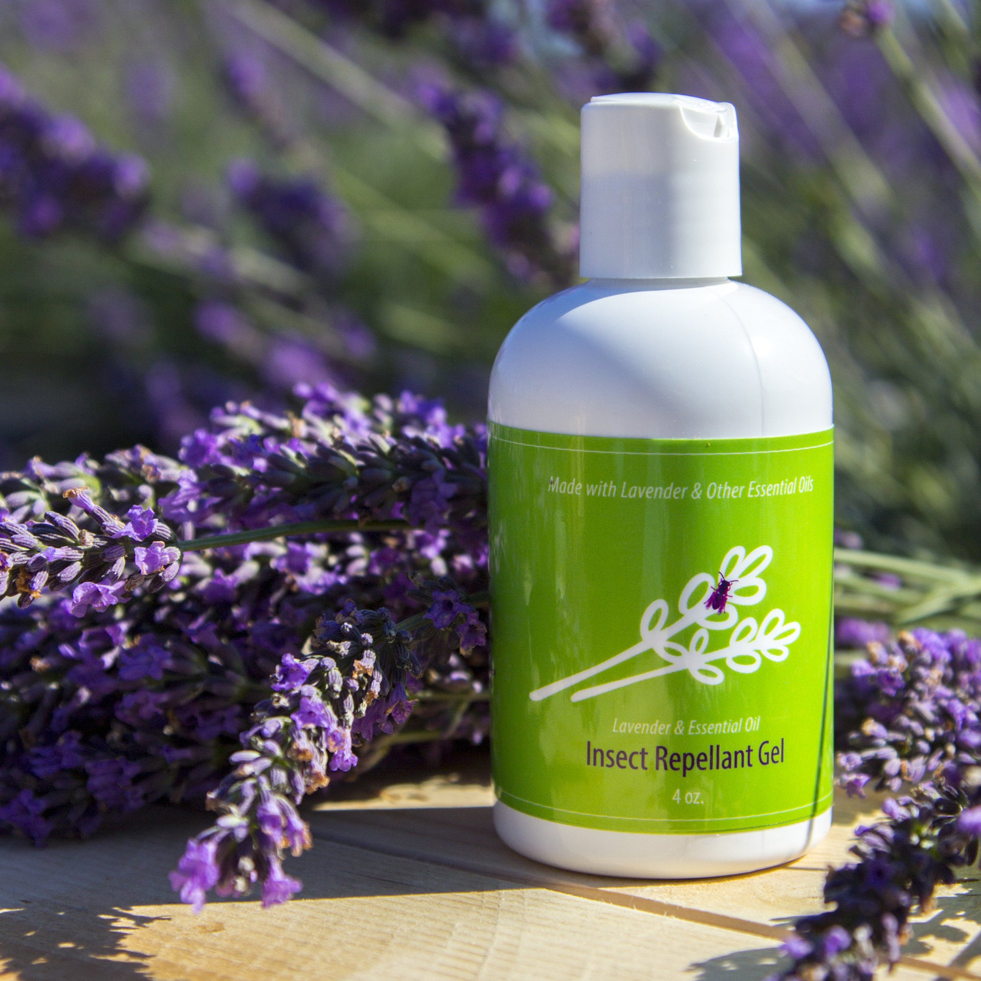 Lavender Insect Repellant Gel