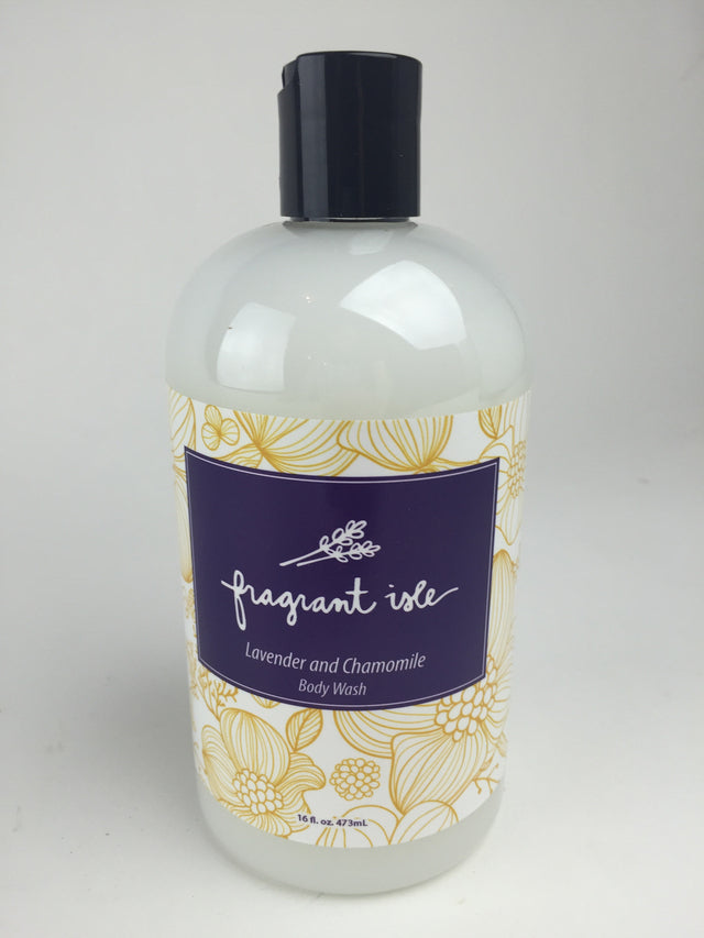 Lavender and Chamomile Body Wash - 16 oz