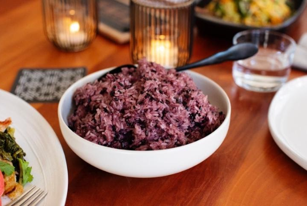 Chef Yia's Purple Sticky Rice