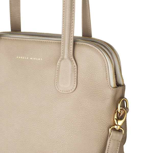 The Lady Tote Taupe