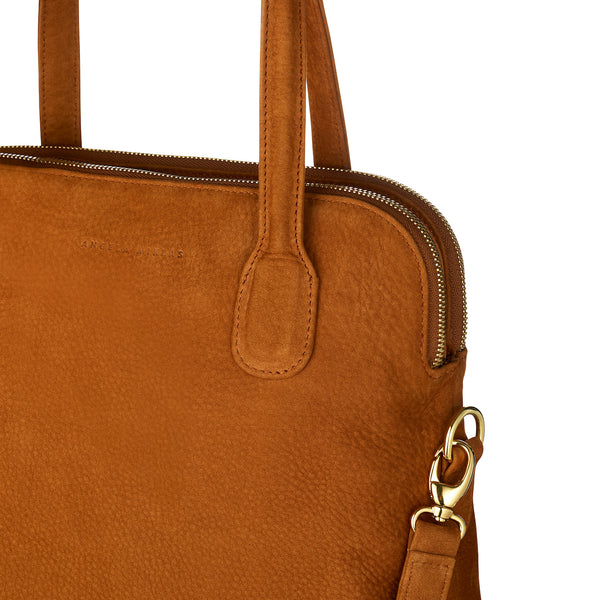 The Lady Tote Brown Nubuck