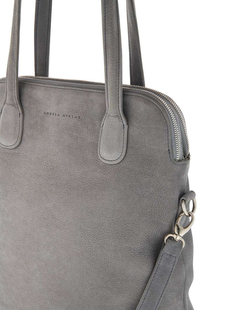 The Lady Tote Grey Nubuck