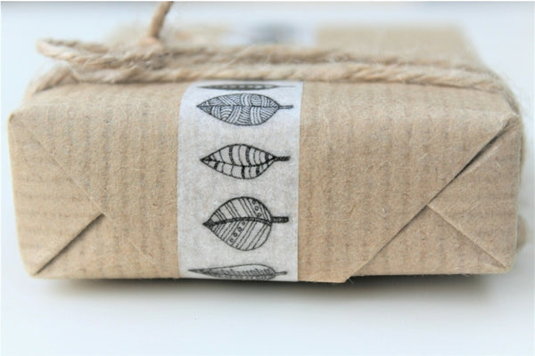 Natural Recycled Kraft Biodegradable Wrapping Paper 6m