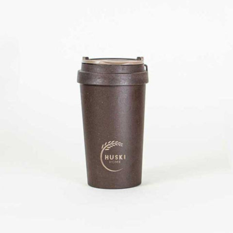 Eco-friendly Travel Cup 400ml- Coffee Husk