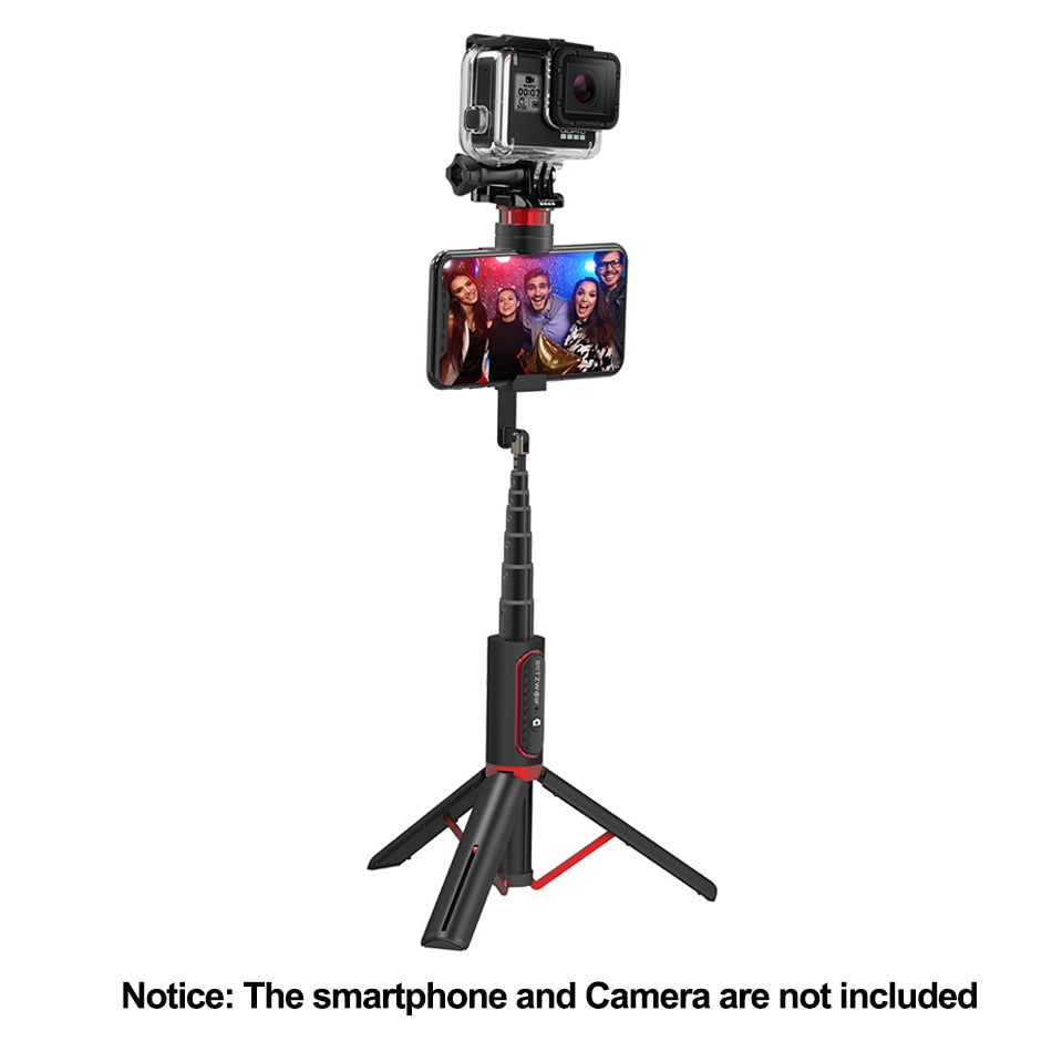 Portable Bluetooth Selfie Stick with Tripod