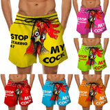 SwyFly [Custom Beach Short] Stop Staring At My Cock