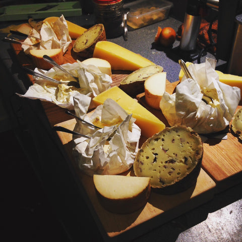 Cheese board at Lupercalia - Dinner and Sex toys in Dublin