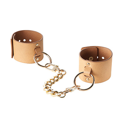 Bijoux Indiscrets Maze collection vegan leather handcuffs - Sex Siopa, Ireland's favourite sex toy shop.