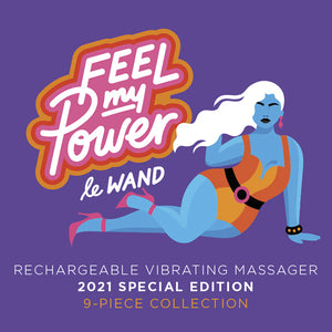 Feel My Power special edition wand vibrator sex toy by Le Wand - Sex Siopa Ireland