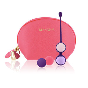 Rianne S. kegel balls with luxury cosmetic bag and heart-shaped lock. Sex Siopa Ireland